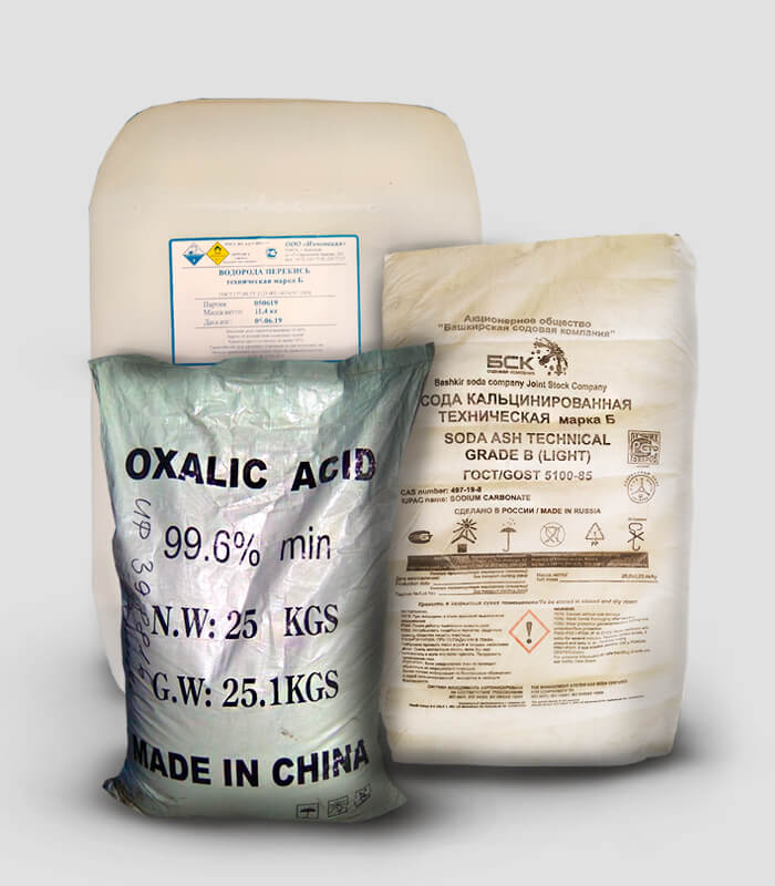 Химические продукты для текстильной промышленности
